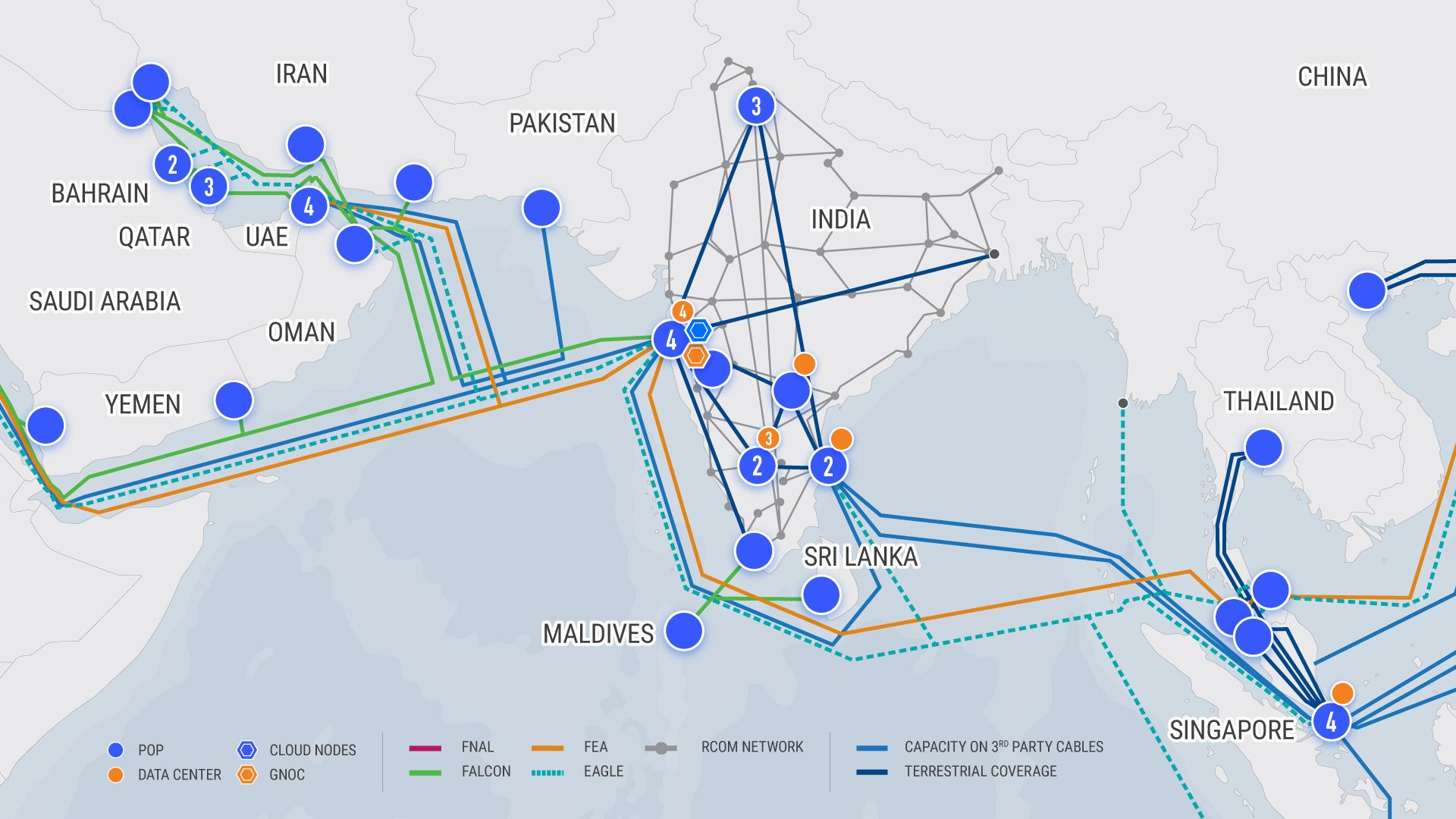 India Network | Global Cloud Xchange