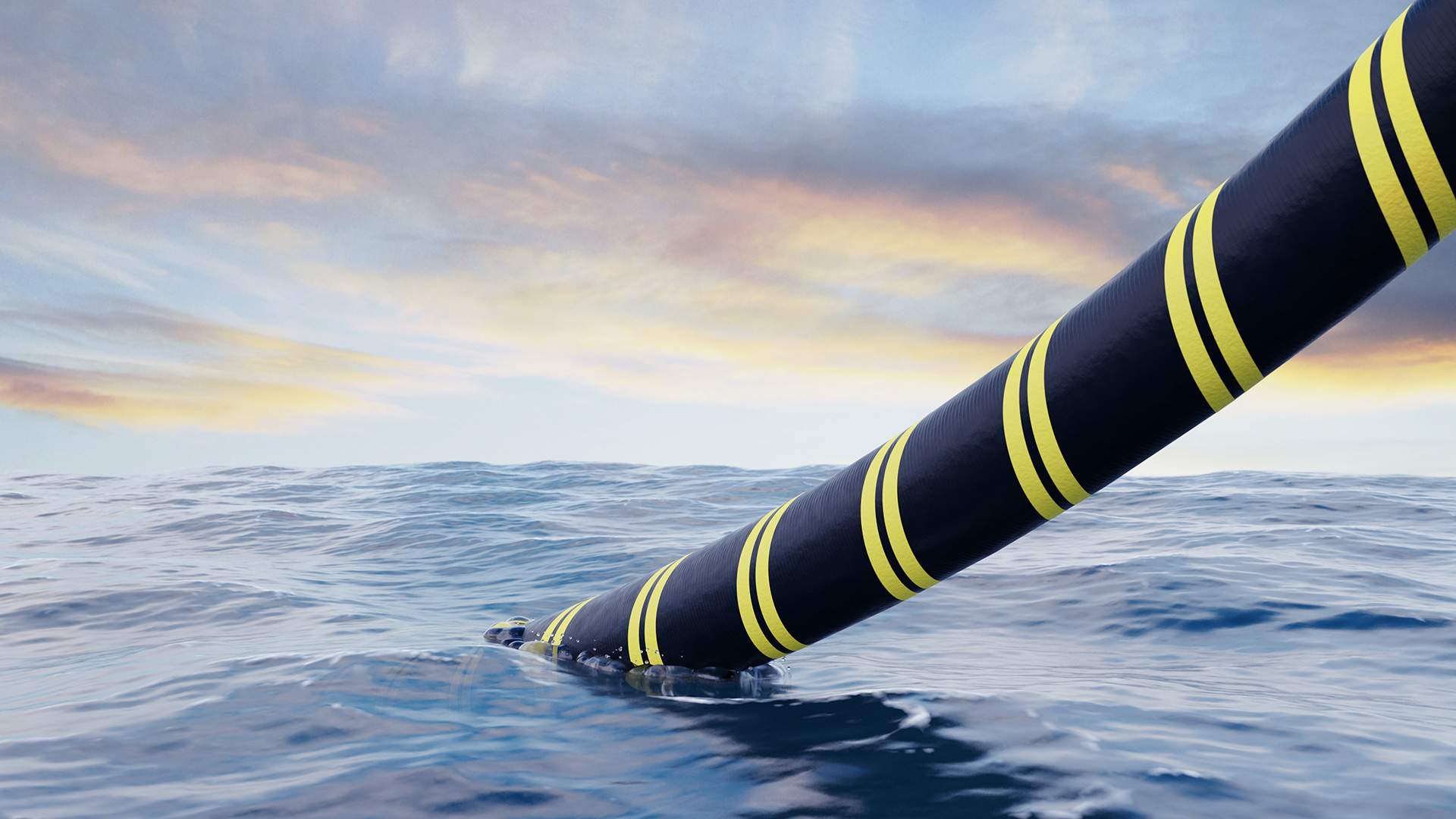 FALCON & FEA submarine cables repaired ahead of schedule